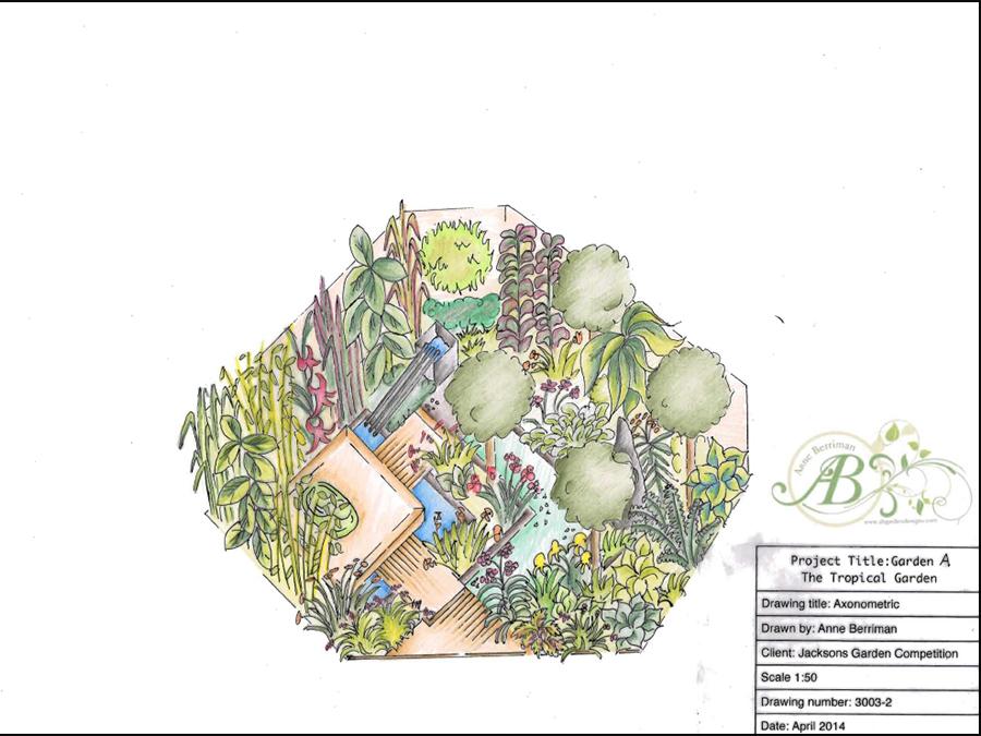 Jacksons show garden 2014 archives anne berriman garden for Garden design 2014